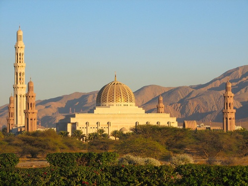 Sultan Qaboos Grand Mosque, Muscat.